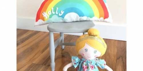 Cuscino-arcobaleno