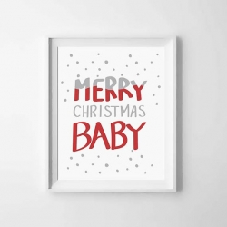 stampa natale by NurseryPrintableArt
