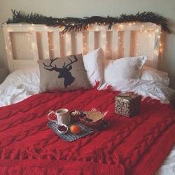decorazioni Natale cameretta