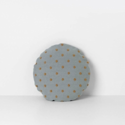 Popcorn Round Cushion - Dusty Mint - Ferm Living