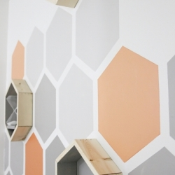 Hexagon-Wood-Shelves by thislewoodfarms