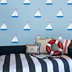 barca a vela by Ideal Stencil