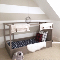 Ikea hacks Kura letto by harlowandthistle