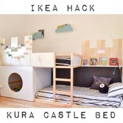 Ikea hacks Kura letto