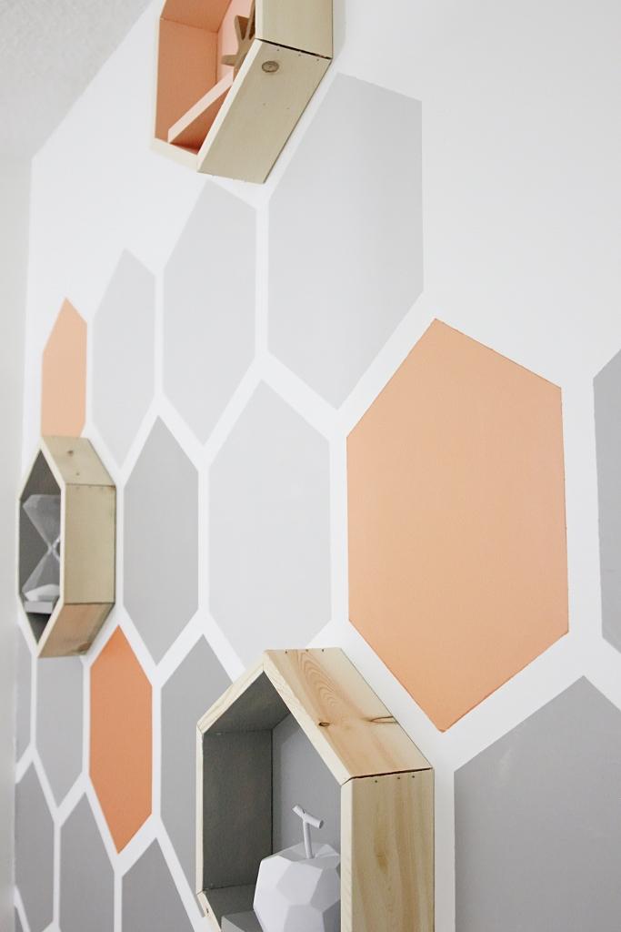Pitture Geometriche Sulle Pareti Non Il Solito Colore